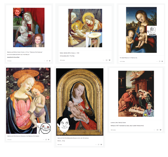 Ugly Renaissance Babies, Altered-images