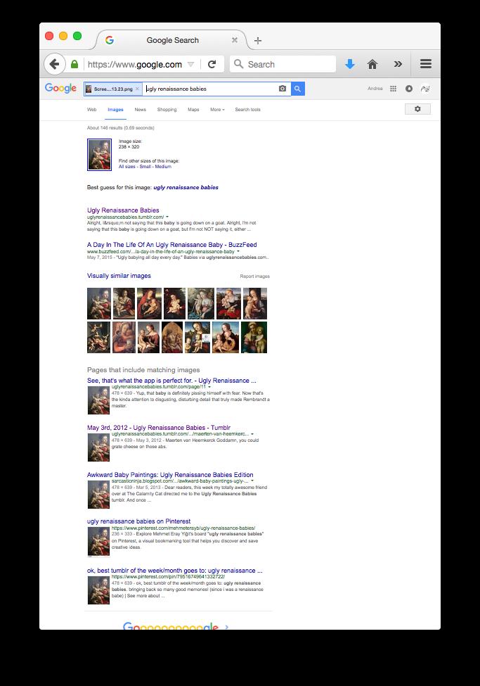 Google Search uploading image, Maerten van Heemkerck